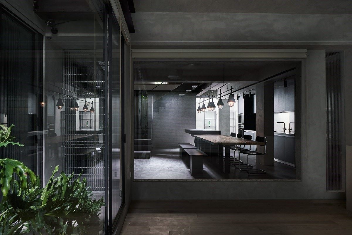 【Promote】40年地下室擁有太陽綠意 老屋變身4倍大歐美風現代宅 KC design studio均漢設計 曹均達