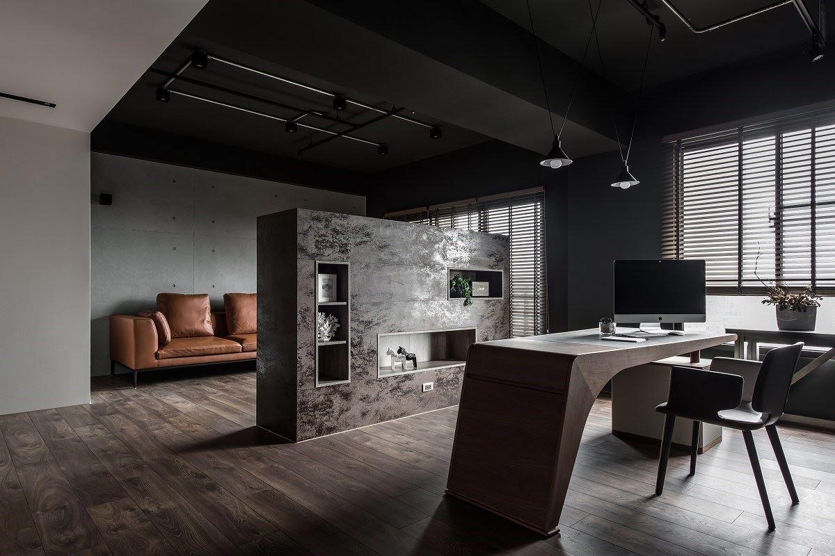 【Promote】深黑9453 率性工業宅讓小倆口超放鬆 洛亦設計 任浩銘、黃柏榕