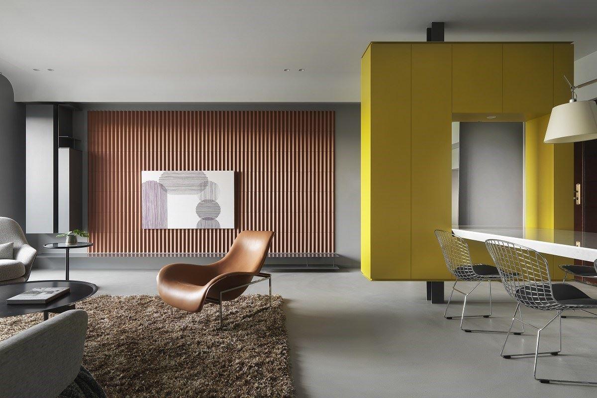 【Promote】幾何色彩構成的家 我家就像現代藝術美術館 奇逸空間設計 郭柏伸