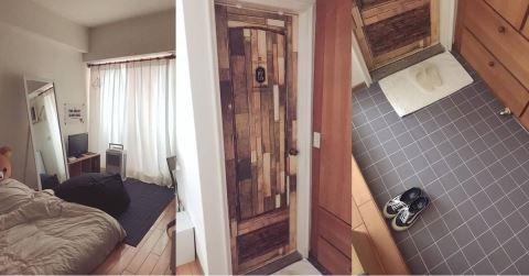 超強小資租屋改造! 利用平價小物打造日式無印風臥房