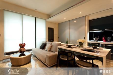 小而美細膩設計!一道拉門讓14坪擁有臥室廚房客廳