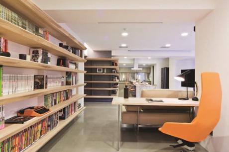 【2011 TID室內設計大獎】書香滿盈,讓生活的本質得以還原。林厚進