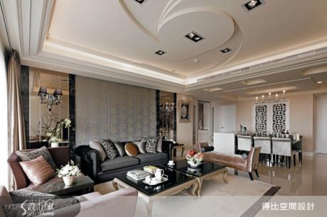 古典又時尚,五十坪的夢幻之家