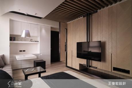 超小宅設計!8坪、不挑高、超有型