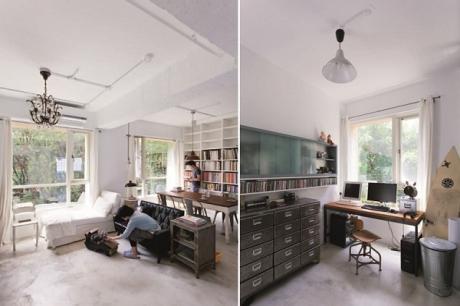 當廣告人愛上Loft,用鐵件和老家具拼湊濃厚紐約風