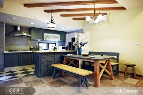 9款異國鄉村風開放式廚房設計