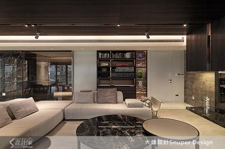 用設計傳遞空間質感的都會自然宅Modern Zen