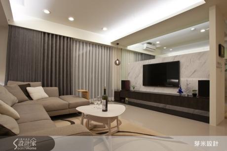 我家大得好舒適! 5 個設計元素打造寬廣明亮有質感的風格宅