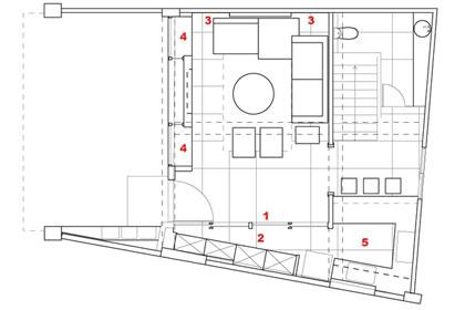 透天厝不平整空間整型記!怎樣把傾斜15度的空間變「正」?