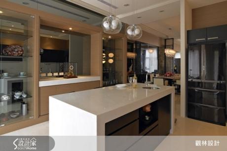 【裝修Q&A】複合機能超夯,一起享受開放式中島廚房的奢華設計吧!