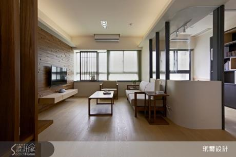 前所未有的寧靜享受~和風小公寓,創造療癒而具質感的居住空間
