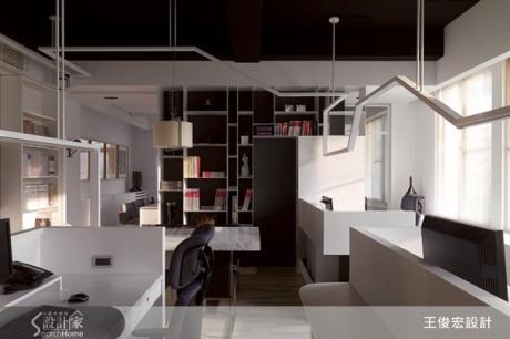 辦公室也要美白!打造讓設計家恣意揮灑創意的白色空間