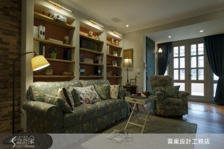 超過35歲的老房子,脫胎換骨成夢幻又實用的浪漫鄉村屋!