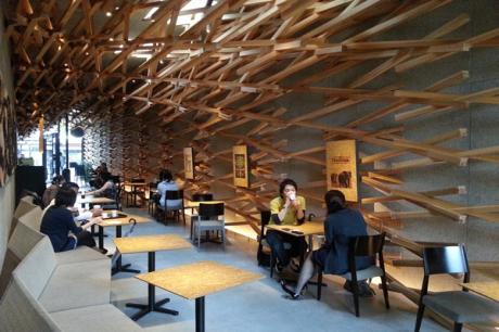 【旅行記憶帶回家】日本福岡星巴克中見職人手感藝術~朱志峰的新和風設計靈感之地