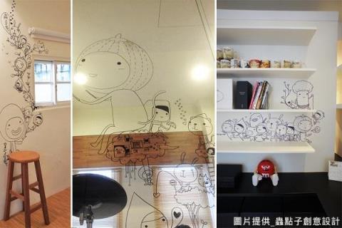 【空間設計新勢力30+】用插畫豐富空間的想像