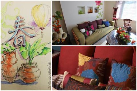 【新春設計講】用色彩、植栽與軟裝佈置,營造過年氣氛