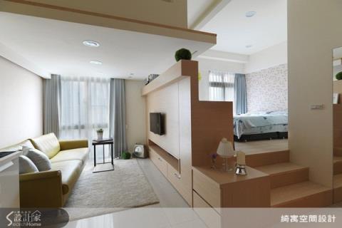 藏的恰到好處的小坪數房型收納設計