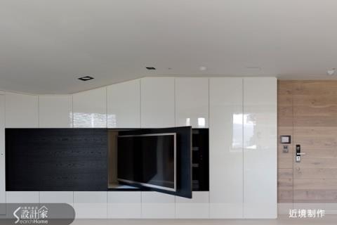 內建式收納,讓機能轉化為室內建築的一部分