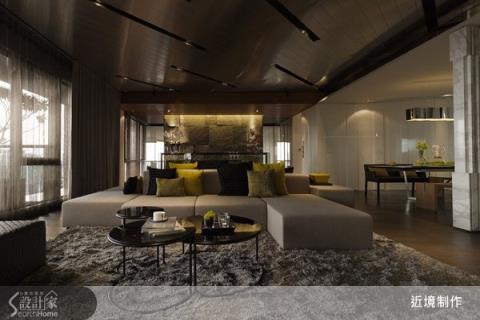概念式發想,室內建築手法,與恰如其分的軟件佈置,演繹俯、仰皆美的空間美學