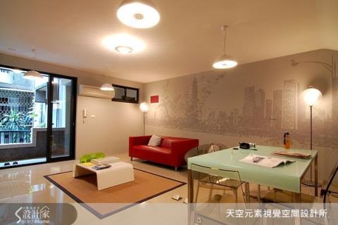 將文創藝術帶進療癒空間,壁畫式的主牆設計