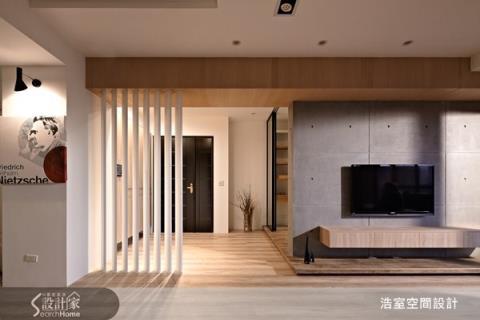 灰白極簡、木色質樸,打造療癒溫馨宅