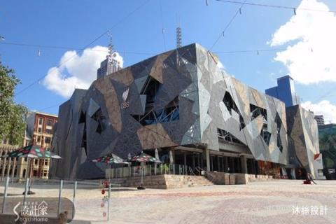 從澳洲設計旅店、雪梨歌劇院建築內外觀,獲得的線條和幾何堆疊設計靈感
