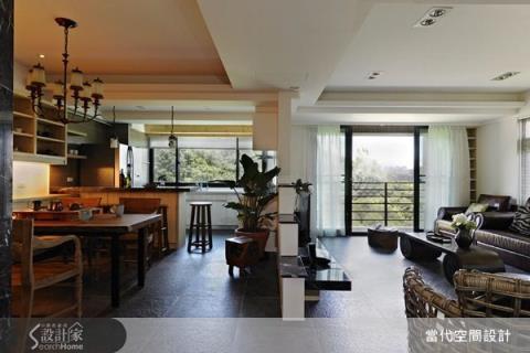 與陽光、綠意一起生活,悠然自得的舒適宅