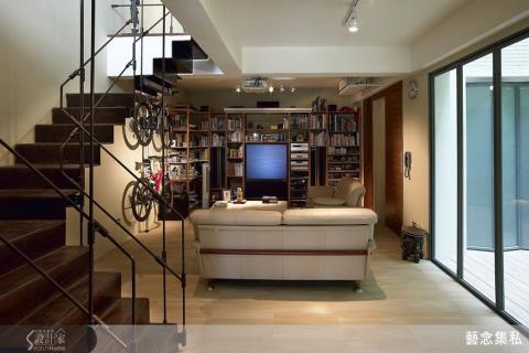 用造形材質玩花樣 讓樓梯說自己的故事