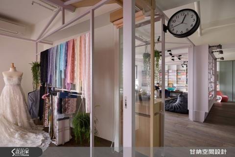 走廊消失了!「生活在動線」的設計哲學,實現100%量身訂製的家