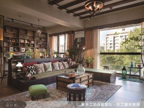 實木建材、量身訂製、風格家具,另一種零壓感的高品質豪宅