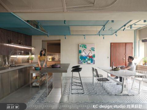 不但美,還要實用!單身、新婚、小家庭的多功能客餐廳設計X 5