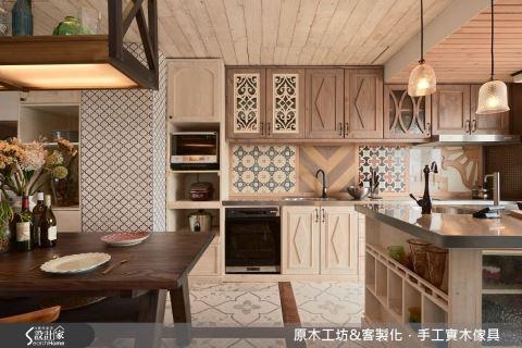 餐廚設計「瘋」原木,成就家裡美味角落!