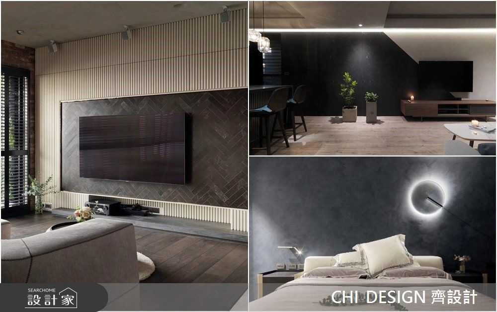 特殊塗料、創意收納、建材拼接把機能牆變焦點!電視牆到床頭牆 7 款牆面美型秘訣分享
