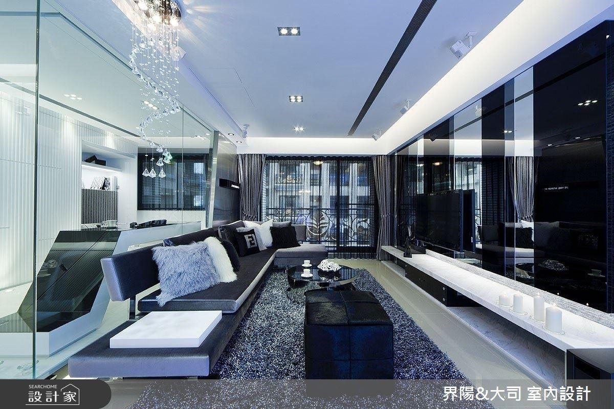 顛覆時尚想像!29 坪精品現代宅 在家獨享私人Lounge Bar