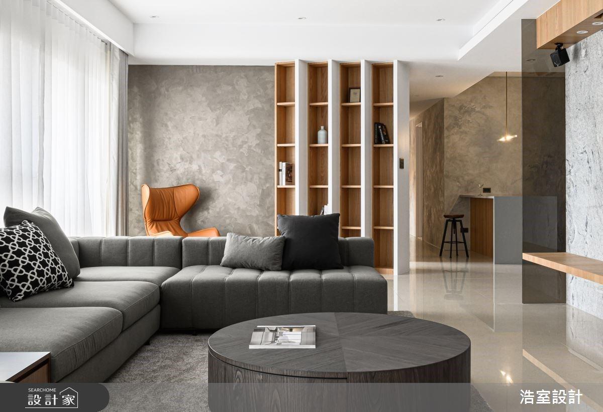 串聯窗扇、引入好採光,量身設計精準比例的現代風宅邸