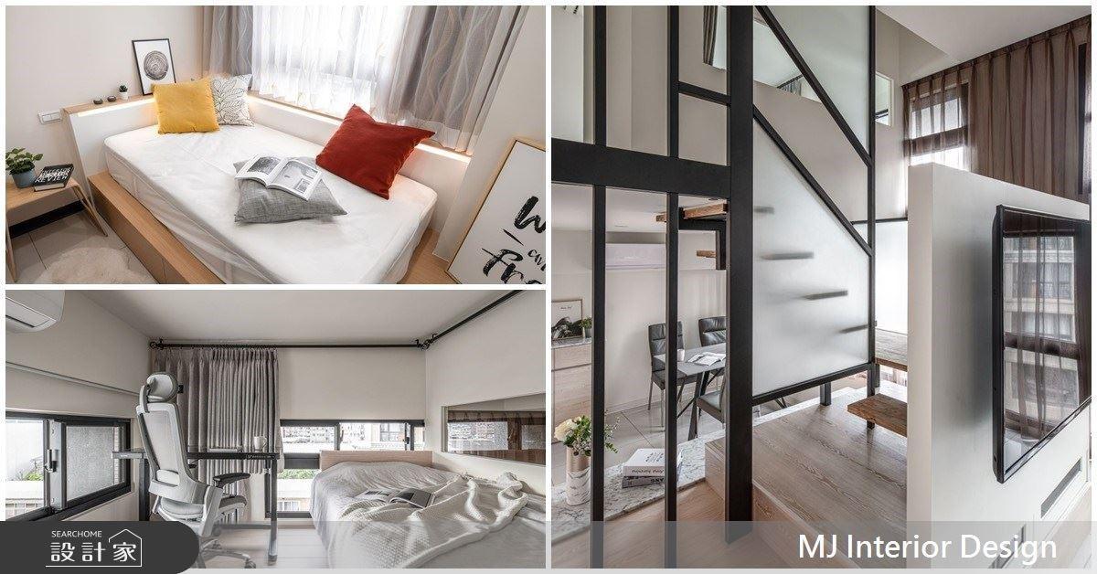15 坪也能有三房兩廳!不只隱藏門、海量收納,4 招打造暖心的小宅設計