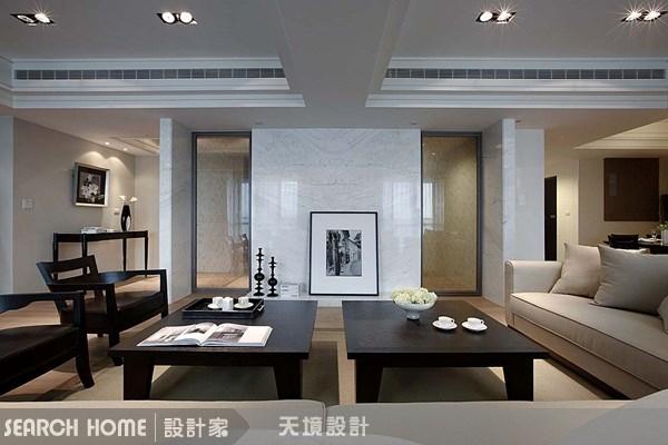 96坪新成屋(5年以下)_奢華風客廳案例圖片_天境空間設計_天境_09之4