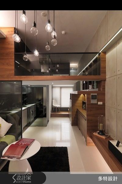 10坪新成屋(5年以下)_現代風案例圖片_多特空間設計_多特_03之1