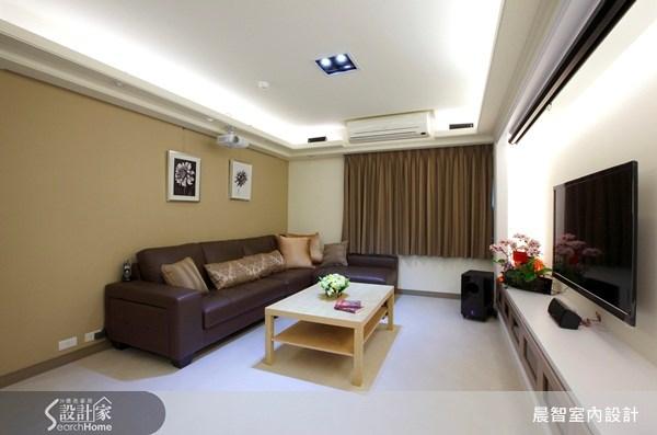 45坪老屋(16~30年)_現代風案例圖片_晨智室內設計_晨智_02之3