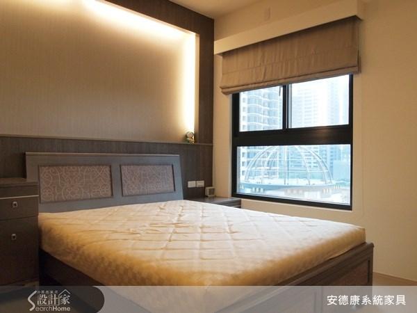 42坪新成屋(5年以下)_現代風臥室案例圖片_安德康系統室內設計_安德康_03之16