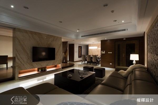 40坪新成屋(5年以下)_奢華風案例圖片_權釋設計_權釋_74之7