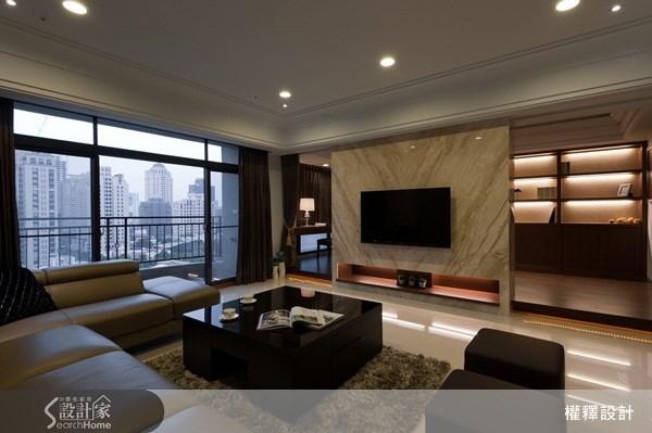 40坪新成屋(5年以下)_奢華風案例圖片_權釋設計_權釋_74之5