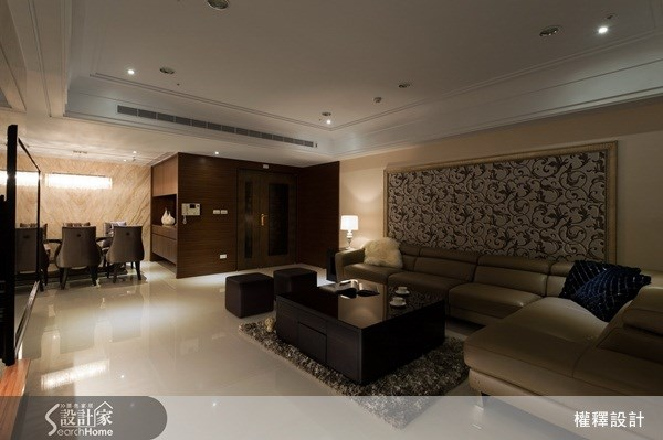 40坪新成屋(5年以下)_奢華風案例圖片_權釋設計_權釋_74之6