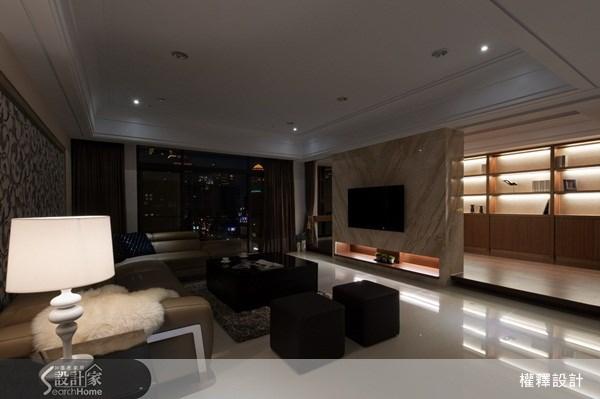 40坪新成屋(5年以下)_奢華風案例圖片_權釋設計_權釋_74之10