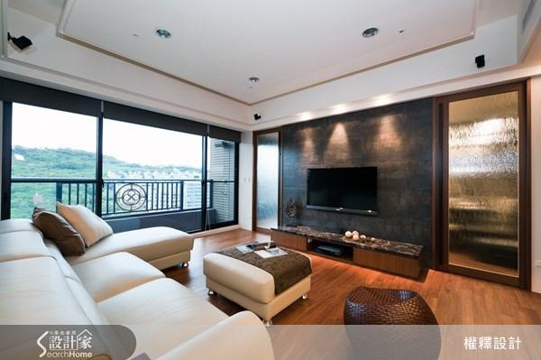 40坪新成屋(5年以下)_休閒風案例圖片_權釋設計_權釋_77之2