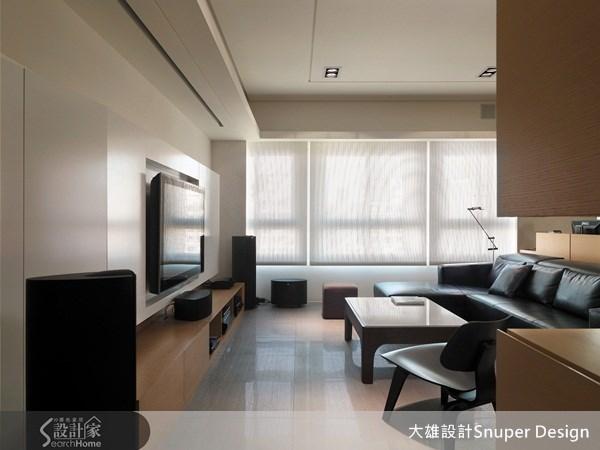 40坪新成屋(5年以下)_現代風客廳案例圖片_大雄室內設計Snuper Design_大雄_01之2