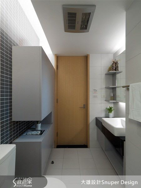 40坪新成屋(5年以下)_現代風浴室案例圖片_大雄室內設計Snuper Design_大雄_01之15