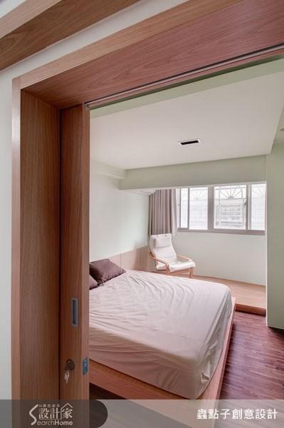 30坪老屋(16~30年)_現代風臥室案例圖片_蟲點子創意設計_蟲點子_02之59