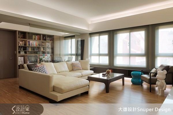 40坪新成屋(5年以下)_北歐風客廳案例圖片_大雄室內設計Snuper Design_大雄_02之2