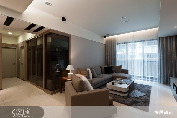 34坪新成屋(5年以下)_現代風案例圖片_權釋設計_權釋_79之4